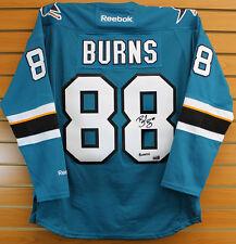 Brent Burns San Jose Sharks Signed Autographed Sharks Burnzie Inscribed Jersey