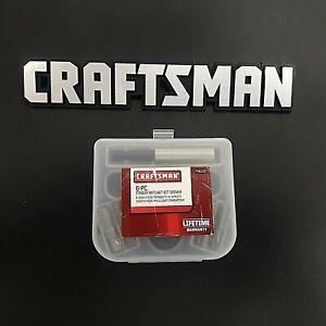 Craftsman 46158 NOS Finger Ratchet Bit Driver Set - USA MADE - NOS