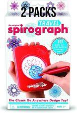 2 Packs of Spirograph Travel Set