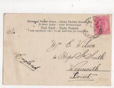 Mrs E Wilson Hope Street South Weymouth 1907 285b