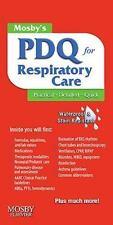Mosby's PDQ for Respiratory Care, 2e, Corning RRT, Helen Schaar, Good Book