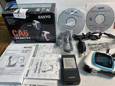 Sanyo Blue 6 MegaPixel Digital Movie Camera Vpc-Ca6