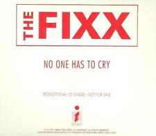 The Fixx: No One Has To Cry PROMO Music CD 1 track Impact Records 1991 Single