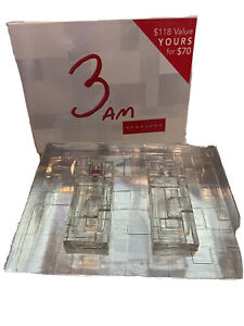 3 AM By SEAN JOHN MEN 2PC SET COLOGNE SPRAY 3.4 OZ  AFTER SHAVE NEW IN BOX