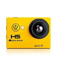 Action Cam Actioncam Midland h5 Acuatica WiFi amarilla