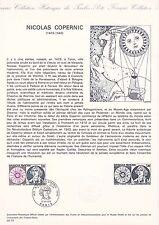 Document Philatélique Timbre 1er Jour : 12/10/ 1974 - Nicolas Copernic