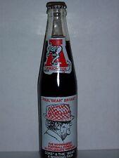 10 OZ COCA COLA COMMEMORATIVE BOTTLE -1981 PAUL BEAR BRYANT (SCROLL)
