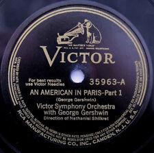 Two disc - George Gershwin - An American in Paris; Victor #35963 & #35964,1929