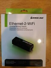IOGEAR Universal RJ-45 Ethernet to Wi-Fi Wireless Adapter Dongle with WPS
