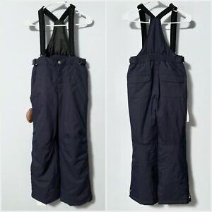 Descente Kids Boys Junior 14 L Large x 28L Ski Bib Snow Pants, Insulated & Warm