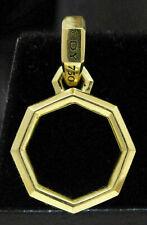 LOVELY 18K YELLOW GOLD DAVID YURMAN PENDANT! 4.3 GRAMS #S42