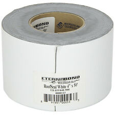 White Roof Sealant Tape 4in Wide RV Trailer Camper Repair Tool Silicone Adhesive