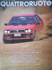 Quattroruote 371 1986 Alfa:le nuove 33.Confronto diesel:Ford Fiesta-Renault5