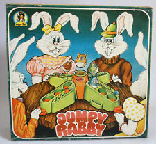VERY RARE VINTAGE 70'S JUMPY RABBY BOARD GAME PLAGGONA GREEK NEW MIB !