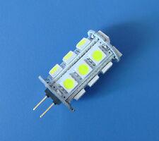 10pcs G4 Light 3W 300LM 18-5050 SMD LED Bulb White AC/DC 12~24V Super Bright