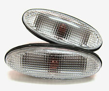 2 CLEAR FENDER LIGHTS SIDE INDICATOR FOR FORD COURIER PE PG PH 98 - 05 00 01 02