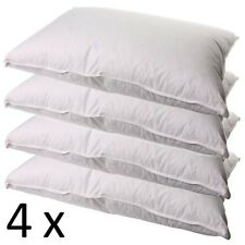 4 x NEW DUCK FEATHER & DOWN PILLOWS