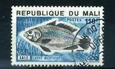 MALI, 1975, timbre 240, Poissons, Lates, oblitéré