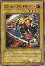 3x Yugioh 5DS2-EN004 X-Saber Anu Piranha Common Card