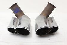 Porsche 996 Carrera 911 Exhaust Muffler Sport Eisenmann Tail Pipe Quad Tips OEM