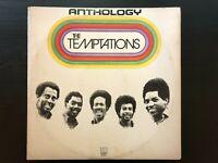 """The Temptations """"Anthology"""" 3x Album Set US Motown Press W/ Booklet VG/ Ex Con"""