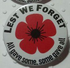 Rememberance Day Poppy Pin Badge