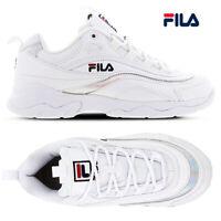 Fila Womens Ray Trainers Iridescent Chunky Platform Athletic Sport Sneaker Shoe