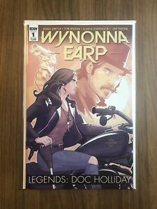 Wynonna Earp Legends: Doc Holliday #1 Cover A - IDW 2016 - Beau Smith