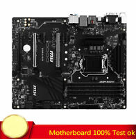 FOR MSI Z170A SLI Plus Motherboard Supports 9th Generation 64GB 100% Test Work