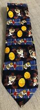 Taz Tasmanian Devil Space Jam Tie Looney Tunes Basketball Novelty Gift