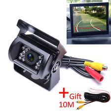 Car Back Up Rear View Reversing Camera Waterproof for Auto RV Truck Bus Caravan