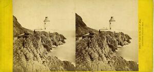 Lighthouse, DOUGLAS Head, Isle of Man 1860s by Dean