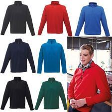 Regatta Mens Professional Lightweight Micro Half Zip Fleece Top Jacket Size