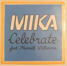 Mika Celebrate 2012 Rare Brad LeBeau Promo CD Pharrell Williams Robbie Rivera