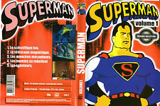 DVD collector : Dessin animé SUPERMAN Vol 1 et Vol 2