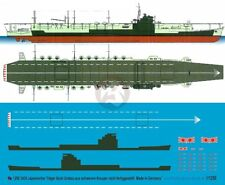 Peddinghaus 1/1250 HIJMS Ibuki Aircraft Carrier Ongoing Conversion Markings 3435