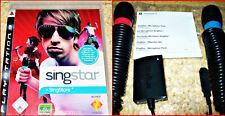 PS3 Singstar VOL.1 + 2 Singstar Micros + USB Karaoke Fiesta Diversión