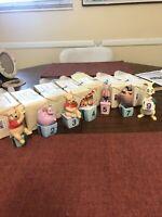 Pooh & Friends Disney Birthday Figurines.