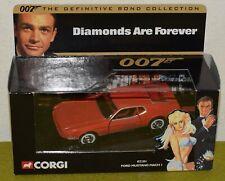 CORGI JAMES BOND 007 DIAMONDS ARE FOREVER FORD MUSTANG MACH I 02101