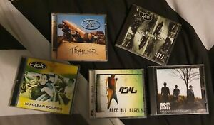 ASH 5 CD Album Collection; Trailer, 1977, Nu-Clear Sounds, Free All Angels, TOTI