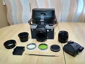 Kiev-6C SLR Medium Format 6x6 USSR Vega-12 lens P6 Pentacon Six Mount USSR