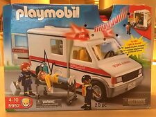 Playmobil Ambulance, 20 Pieces, Brand New In Box