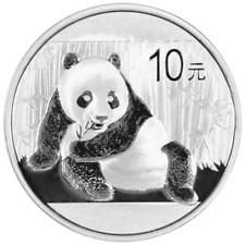 2015 10 Yuan Silver Chinese Panda .999 1 oz Brilliant Uncirculated