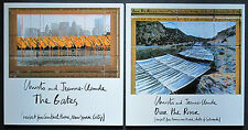 COFFRET CHRISTO & JEANNE CLAUDE THE GATES NY OVER THE RIVER ARKANSAS 98 PIETERS
