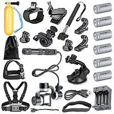 NW-Z1-Rider2 3-Axis Gimbal+12-IN-1 Sports Kit for GoPro3 3+ 4 SJ4000/5000/6000