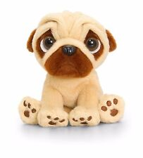 Keel Toys Pugsley - 14cm Pug Dog Cuddly Soft Toy Teddy Plush  SD0588