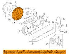 VW VOLKSWAGEN OEM Jetta Rear Brake-Backing Plate Splash Dust Shield 5C0609425A