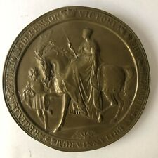Queen Victoria Great Seal of England United Kingdom Metal Plaque Her Seal