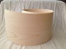 Iron on Pre Glued Ash Real Wood Veneer Sheet  2540mm x 250mm
