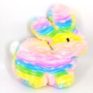 "Dan Dee Pastel Rainbow Cotton Candy Easter Bunny Rabbit 15"" Large"